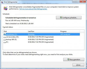 Disk Defragmenter Analyzer 03