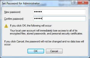Set Password for Administrator 04