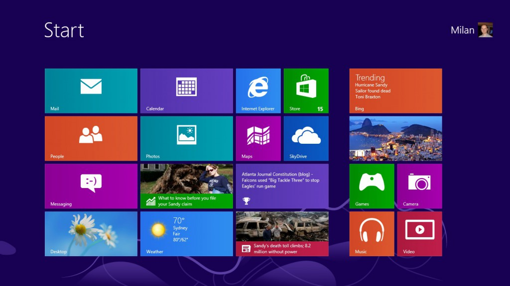 Windows 8 START printscreen