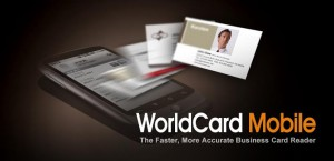 WorldCard Mobile Lite - business card reader