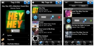 Shazam screenshots