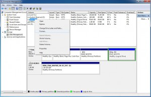 Do quick format of the partition before installing Windows 8