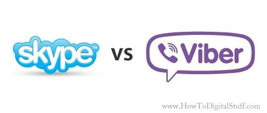 Skype for Windows vs  Viber for Windows - How To Digital Stuff