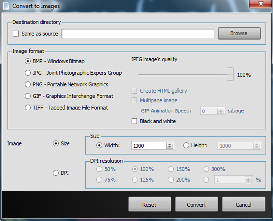 Convert PDF to Image Software