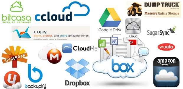 Ultimate list of all free cloud storage providers