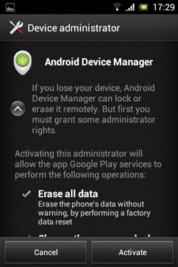 Android Device Administrator