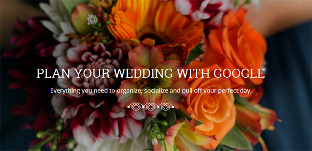 Plan your wedding with Google