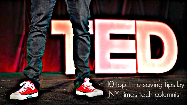 10 tech tips a NY Times tech columnist can teach you about saving time