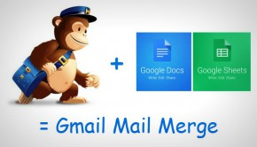 Gmail mail merge with MailChimp