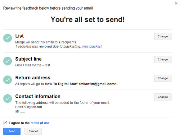 how to get emails from gmail for mailchimp