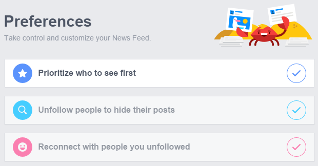 Make Facebook show your favorite friends posts first