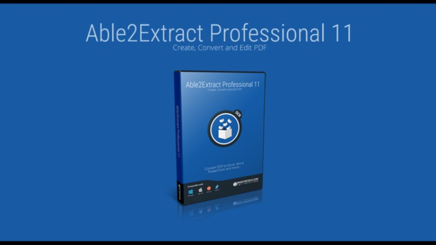 Able2Extract Professional 11 – Adobe's rising rival