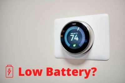 How To Fix Nest Thermostat Low Battery